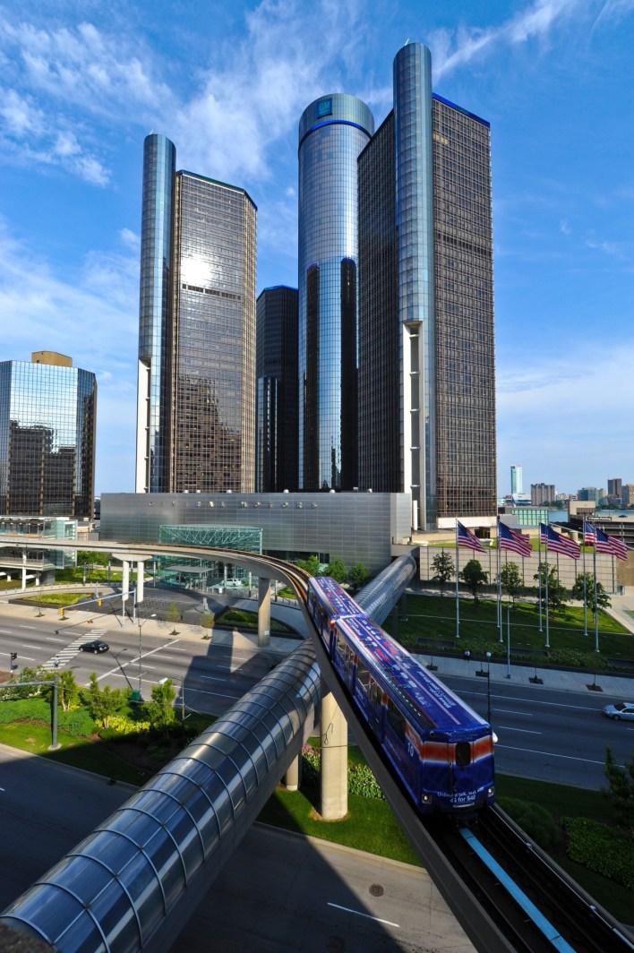 Skyline de Détroit
