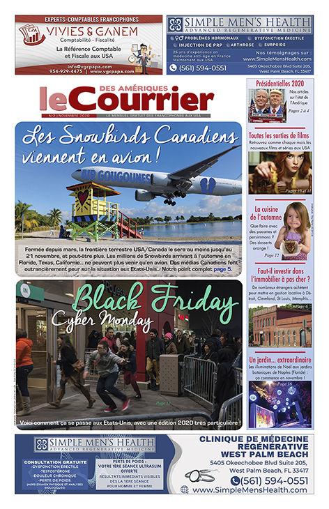 Le Courrier des Amériques / Le Courrier de Floride de Novembre 2020