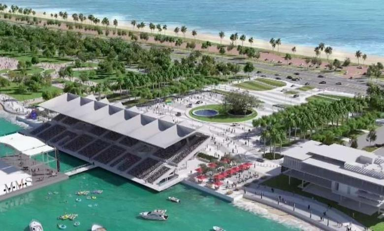 Le projet de Marine Stadium de Miami de R.J. Heisenbottle Architects et City of Miami