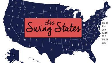 Photo de «Swing States» : quels sont ces Etats qui vont déterminer le vainqueur de la Présidentielle américaine de 2020