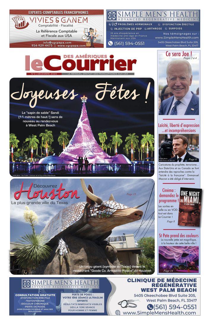 Le Courrier de Floride de Décembre 2020