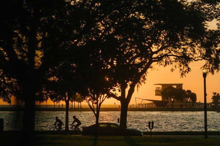 Le nouveau pier de St Petersburg en Floride (crédit photo : City of St Petersburg).