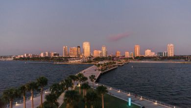 Le nouveau pier de St Petersburg en Floride (crédit photo : City of St Petersburg).