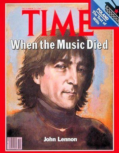 La couverture de Time à l'époque