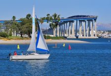 Le Coronado Bridge de San Diego