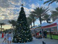 Décorations de Noël à Fort Lauderdale