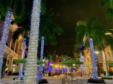 Hallandale : les décorations de Noël au Gulfstream Park en vidéo et photos