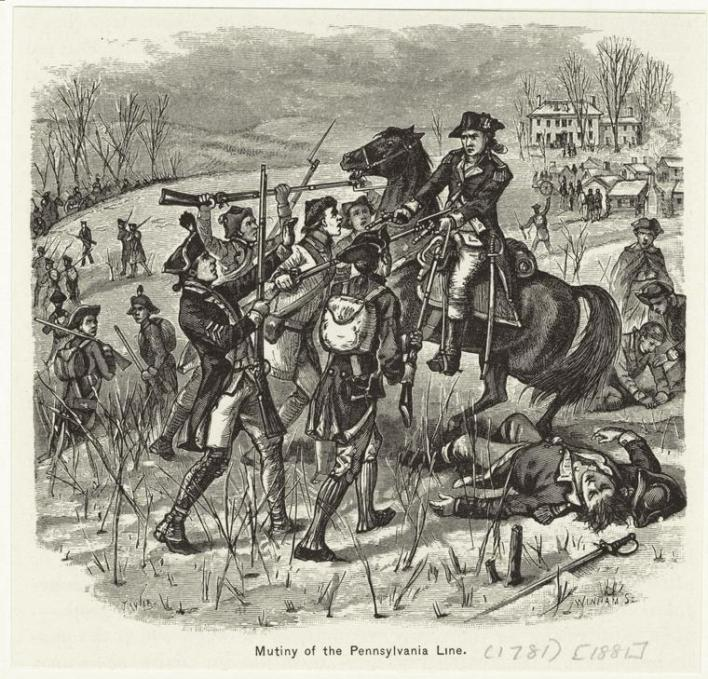 La Pennsylvania Line Mutiny