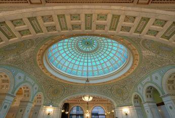 Dome au Cultural Center de Chicago
