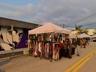 Art Walk au Mass District du FAT Village à Fort Lauderdale en Floride