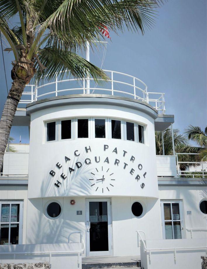 Caserne des Sauveteurs en Mer Ocean Drive