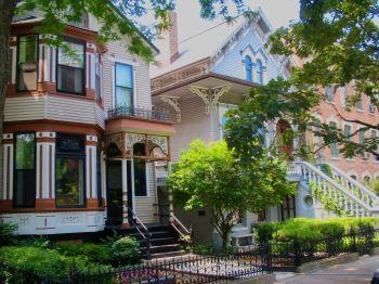 Maisons à Old Town Chicago