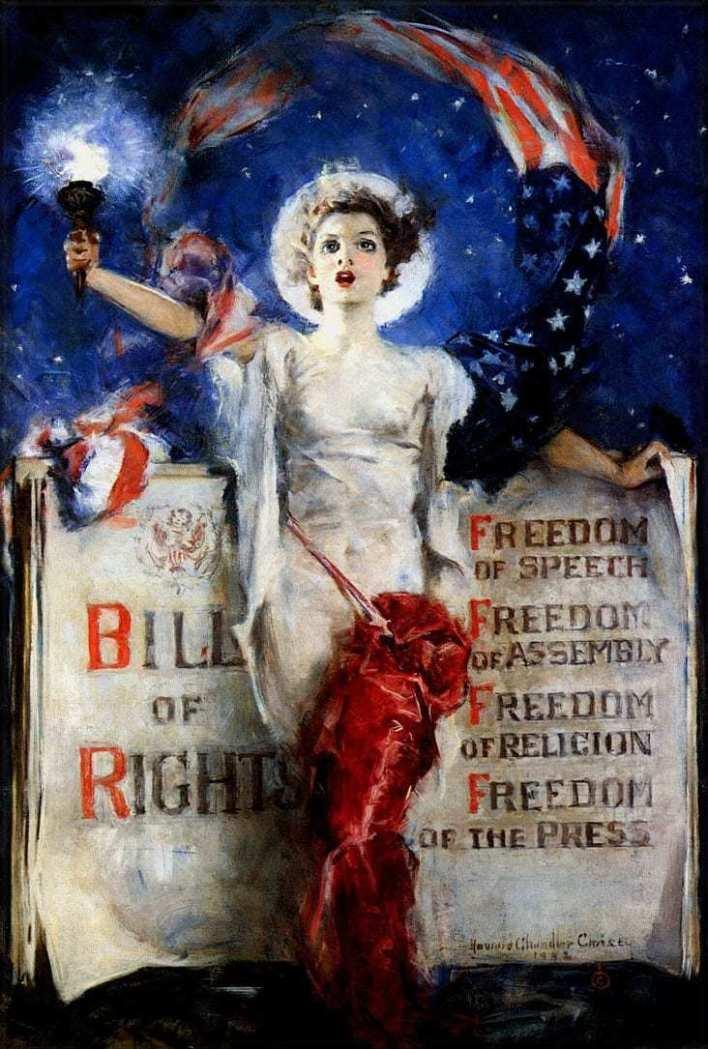 Il était une fois... la liberté d'expression aux Etats-Unis !
