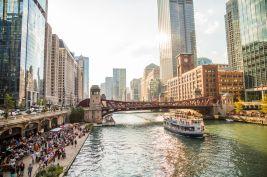 Riverwalk de Chicago.