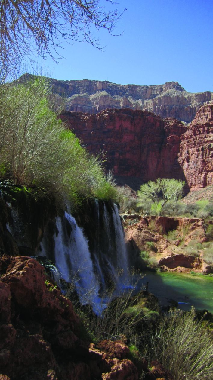 Navajo Falls à Havasupai
