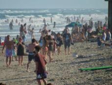 Plage de Deerfield Beach en Floride