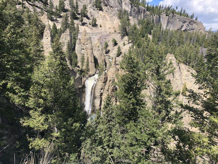 Guide de voyage de Yellowstone : la Tower Fall.