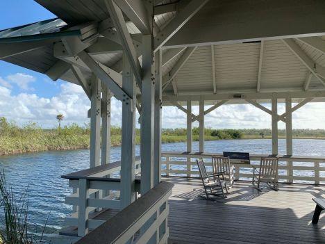Visitor's Center à l'entrée du Parc National des Everglades.