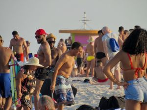 Plage gay à South Beach, Miami Beach