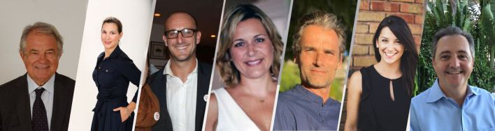 Jacques Brion, Aline Martin O'Brien, David Ruiz, Séverine Gianese-Pittman, Nicolas Guillant, Jordane Ruiz, Jean-Paul Barre