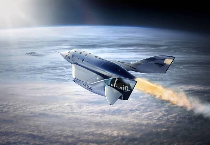 SpaceShipeTwo, de Virgin Galactic