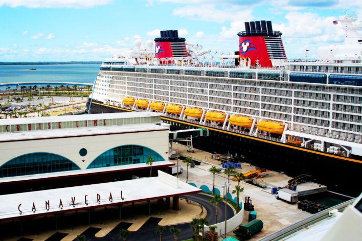 Croisière Disney Cruise à Port Canaveral.