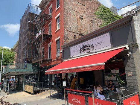 Juliana's (dans le quartier de DUMBO à Brooklyn, New-York)