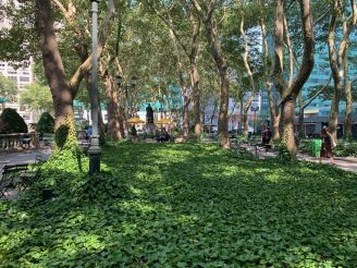 Bryant Park à Manhattan, New-York City