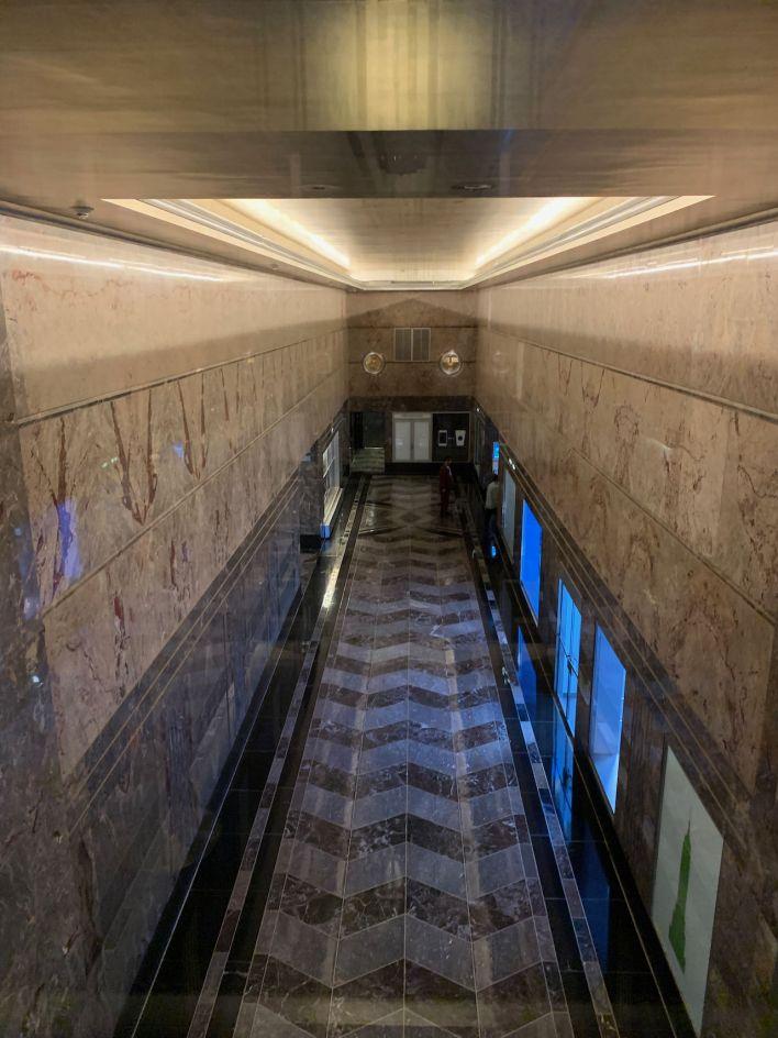 L'ascenseur vertigineux de l'Empire State Building à New-York