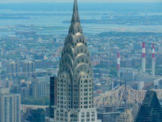 Vue du Chrysler Building depuis l'Empire State Building
