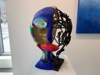 œuvre de Niki de Saint Phalle à la Nohra Haime Gallery de Chelsea (New-York)