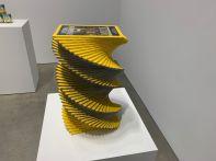 Sculptures sur bois de Matt Johnson à la 303 Gallery de Chelsea, à New-York