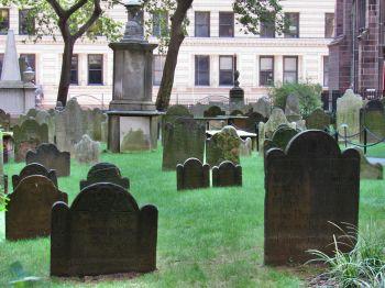 Cimetière de la Trinity Church de Wall Street.