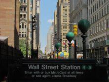 Paysage à Wall Street