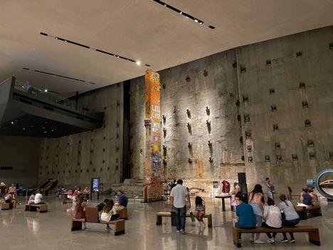 Le musée et mémorial des attaques du 11 septembre.