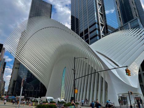 The Oculus, la galerie marchande du World Trade Center