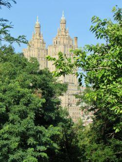 Près de Belvedere Castle à Central Park