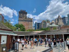 Fort Clinton à Battery Park, Manhattan, New-York City