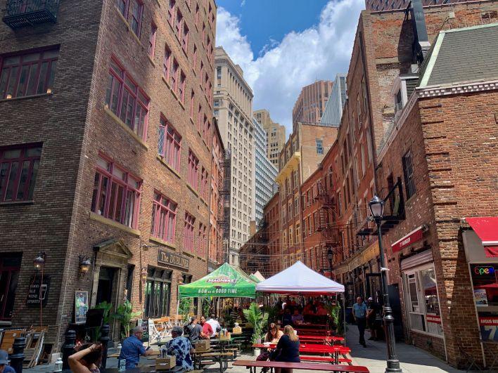Stone Street (Financial District de New-York)