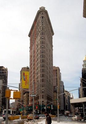 Le Flatiron Building.