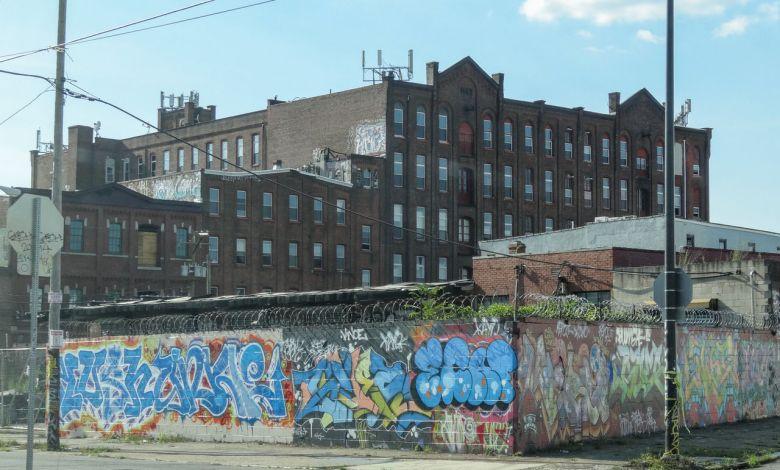 un quartier de North-Philadelphia