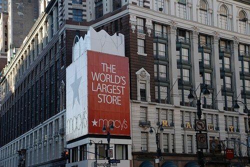 """Le fameux magasin """"Macy's"""""""