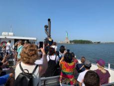 Liberty Cruise vers la Statue de la Liberté à New-York