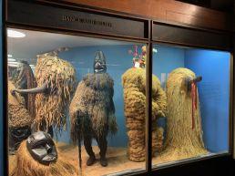 Partie consacrée à l'Afrique au Musée d'histoire naturelle de New-York (American Museum of Natural History)