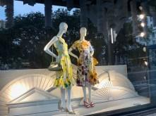 Magasins de luxe sur la Fifth avenue de Manhattan.