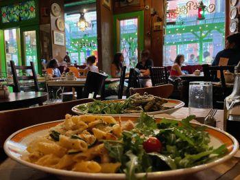 Cafe Reggio de Greenwich Village à Manhattan, New-York