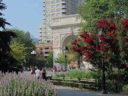 Washington Square à Greenwich Village à Manhattan, New-York