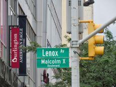 Le quartier de Harlem à New-York