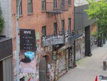 Vue depuis la High Line de Chelsea, à New-York City