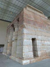 Temple égyptien au Metropolitan Museum of Art de New-York